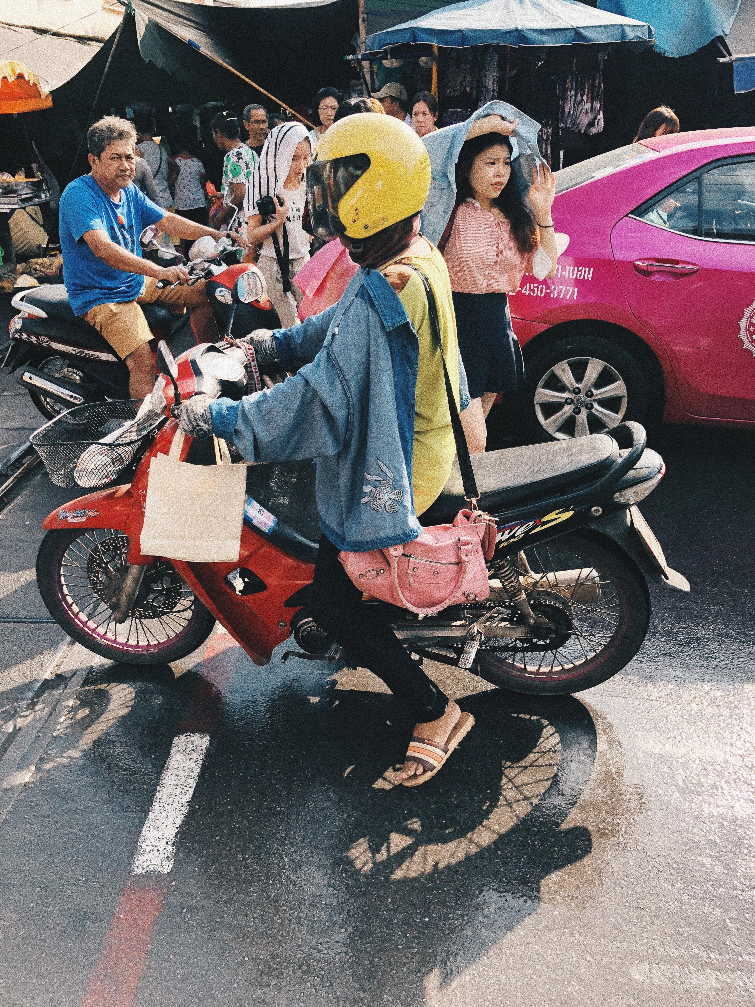 O estilo vida real do tailandês. Foto: Augusto Mariotti