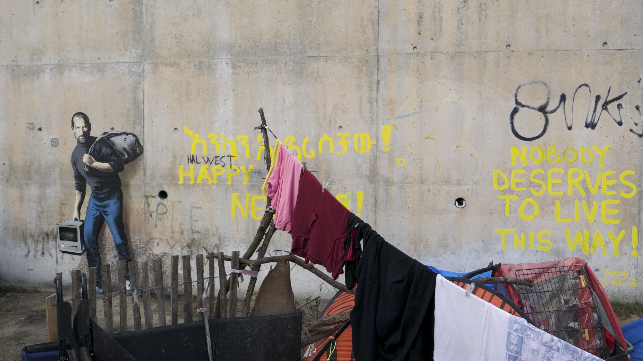 The Jungle, Banksy / Reprodução