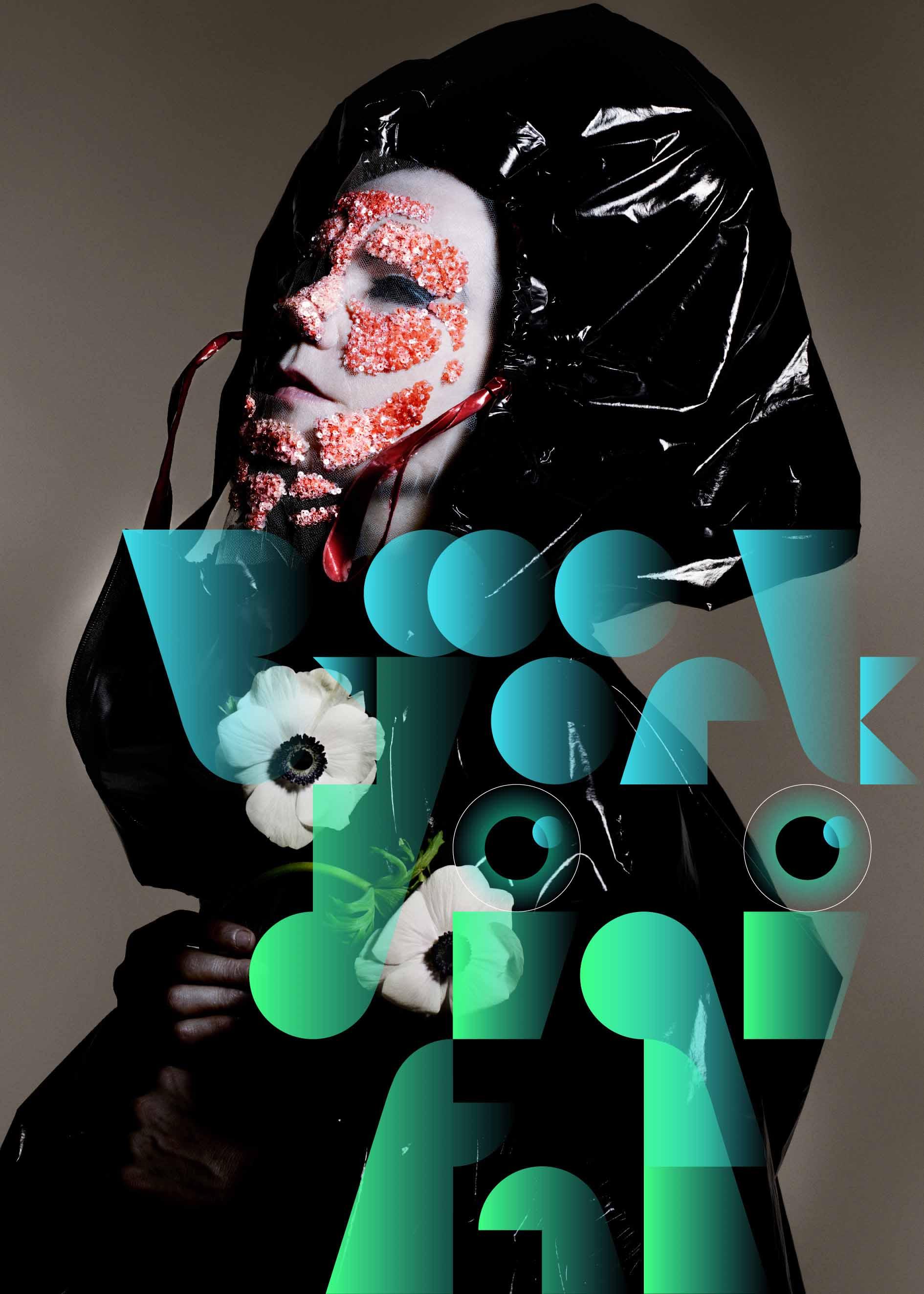Poster da exposição Bjork Digital no Brasil / Cortesia
