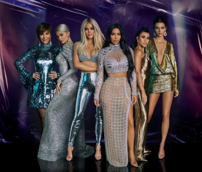 as kardashians, que viraram um fenônemo da super exposição