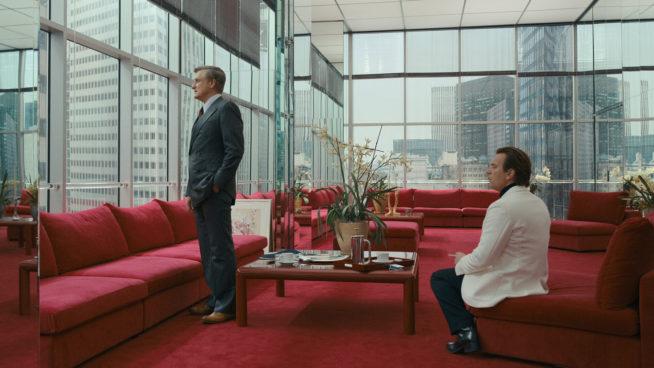 halston em seu escritório na olympic tower