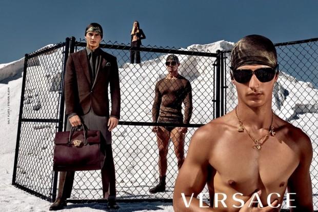 Time de supermodelos estrela campanha de Verão 2016 da Versace    Notícias  Models    FFW 29a8325f05