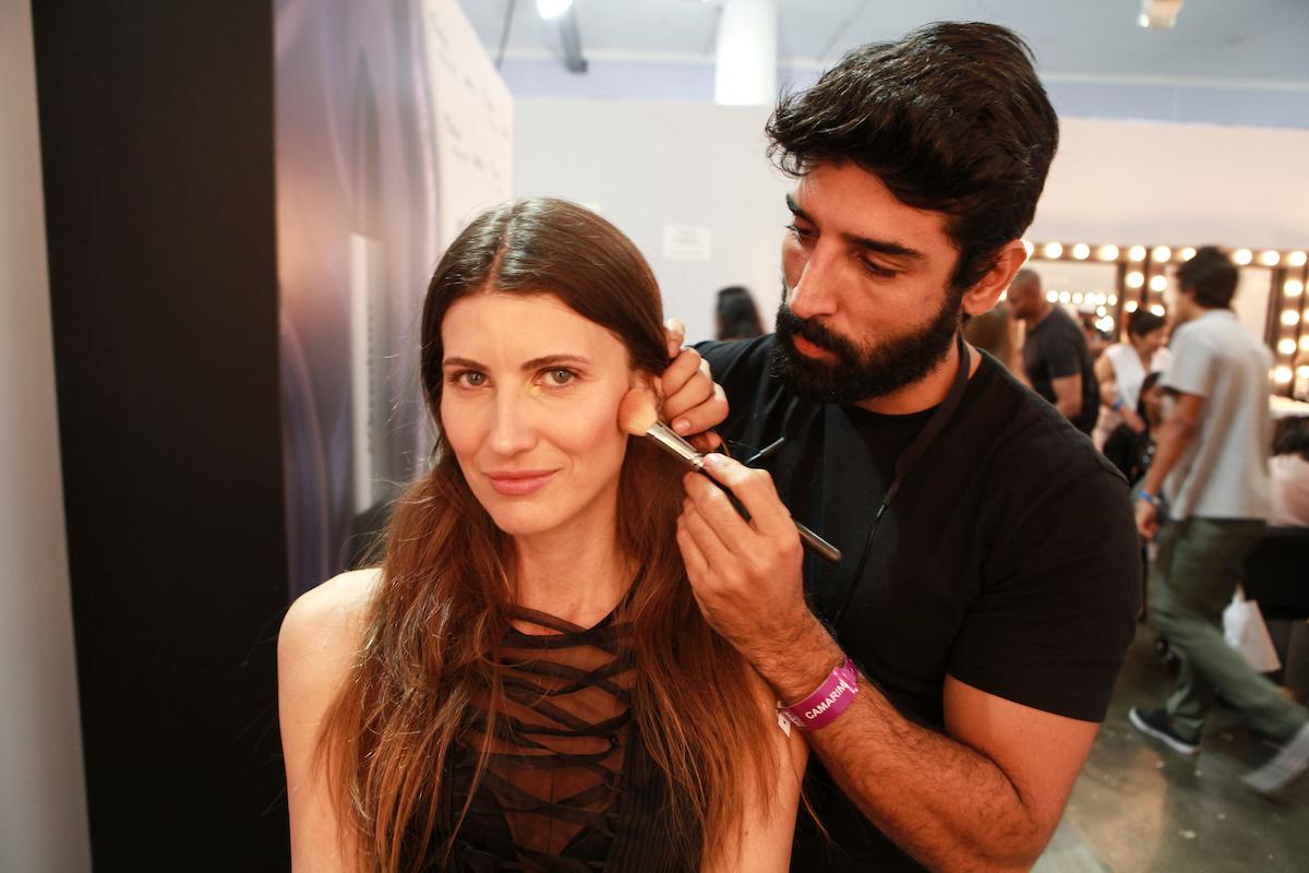 No backstage ©Agência Fotosite