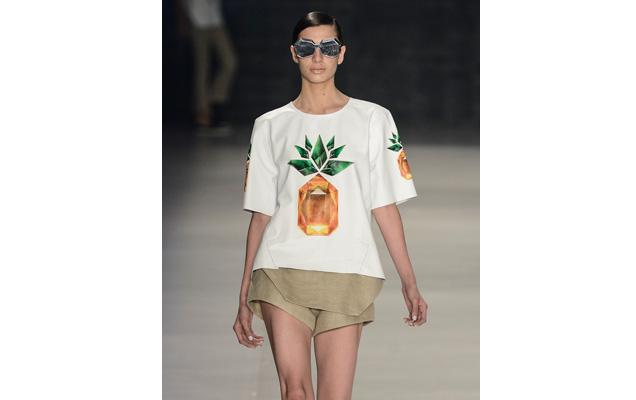 Galeria de Fotos É temporada de abacaxi na passarela e nas ...