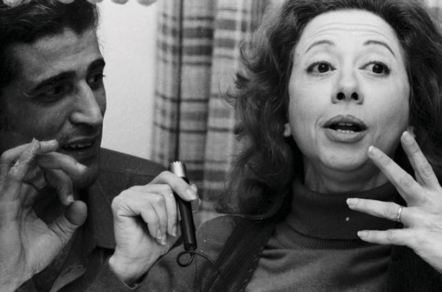 Ziraldo e Fernanda Montenegro em foto do arquivo de Paulo Garcez - Ziraldo-e-Fernanda-Montenegro-por-Paulo-Garcez-Pasquim
