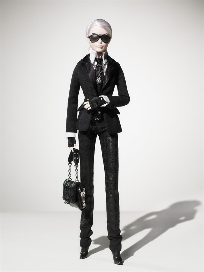 Barbie Karl Lagerfeld boneca onde comprar 2