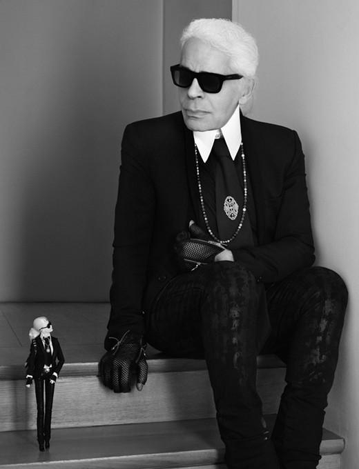 Barbie Karl Lagerfeld boneca onde comprar