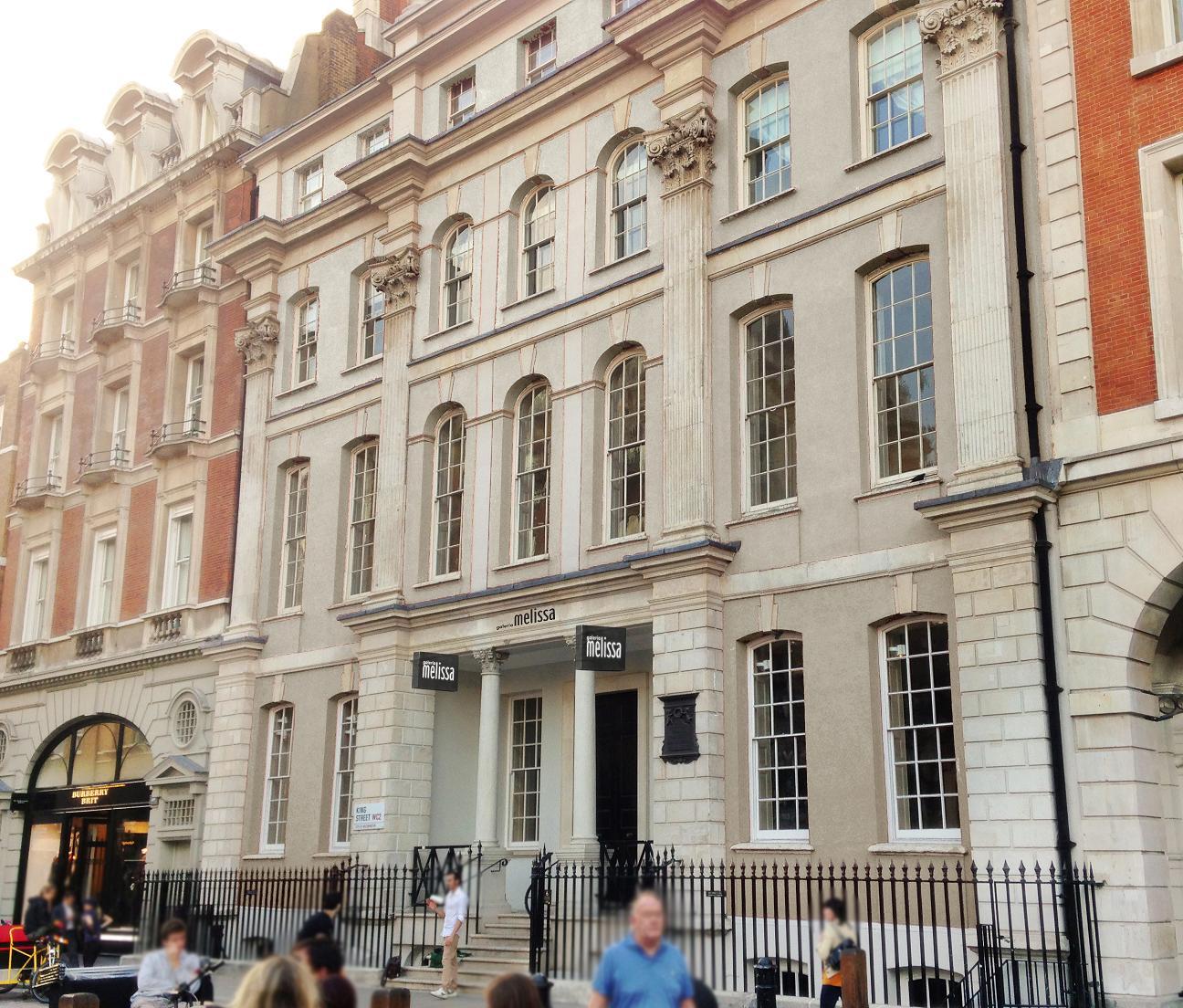 Fachada do prédio que vai abrigar a nova Galeria Melissa Londres ©Divulgação