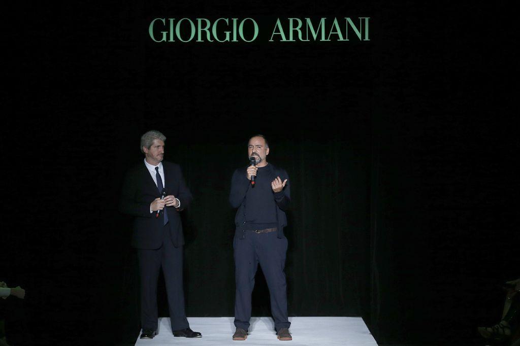 b0ee10069778e Giorgio Armani faz primeiro desfile no Brasil e planeja investimentos     Notícias    FFW