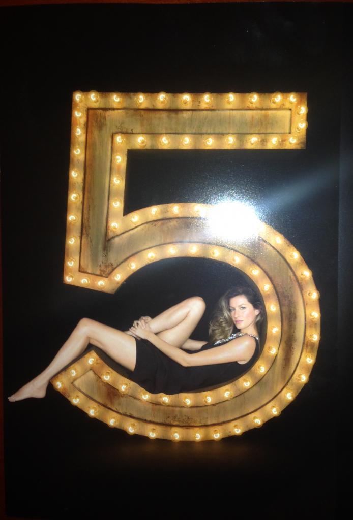 Gisele Bundchen na campanha do perfume Chanel n 5 1