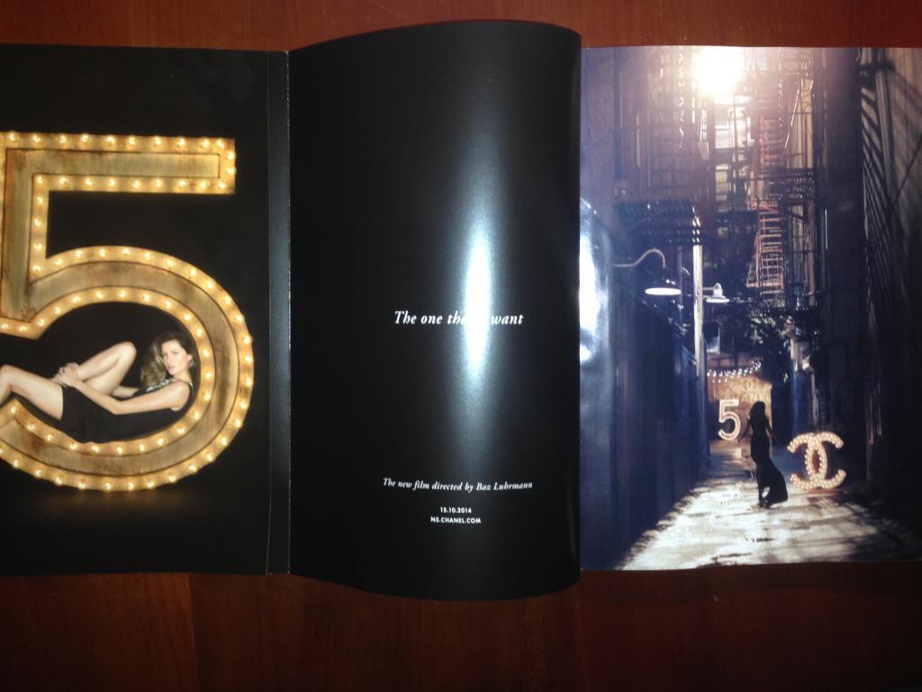 Gisele Bundchen na campanha do perfume Chanel n 5 3