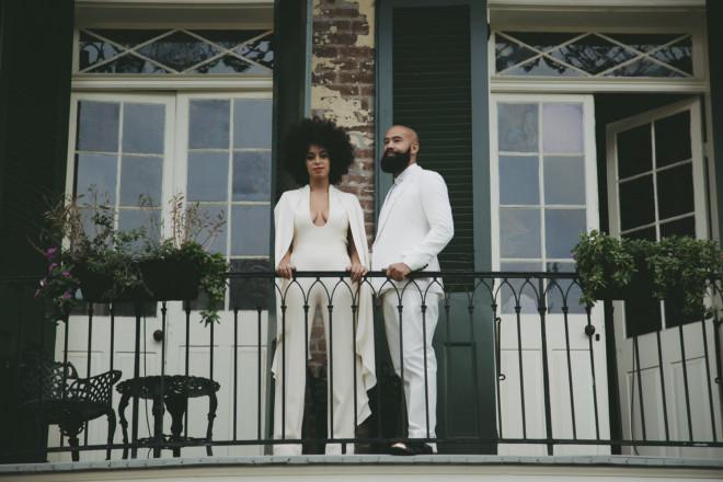 Os noivos Solange Knowles e Alan Ferguson ©Reprodução