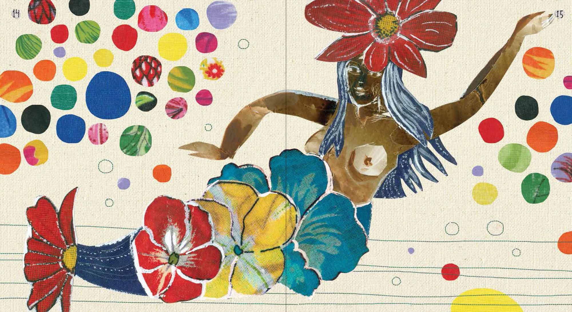 """Ilustração do livro """"Uma Festa das Cores"""", de Ronaldo Fraga e Ana Göbel ©Divulgação"""