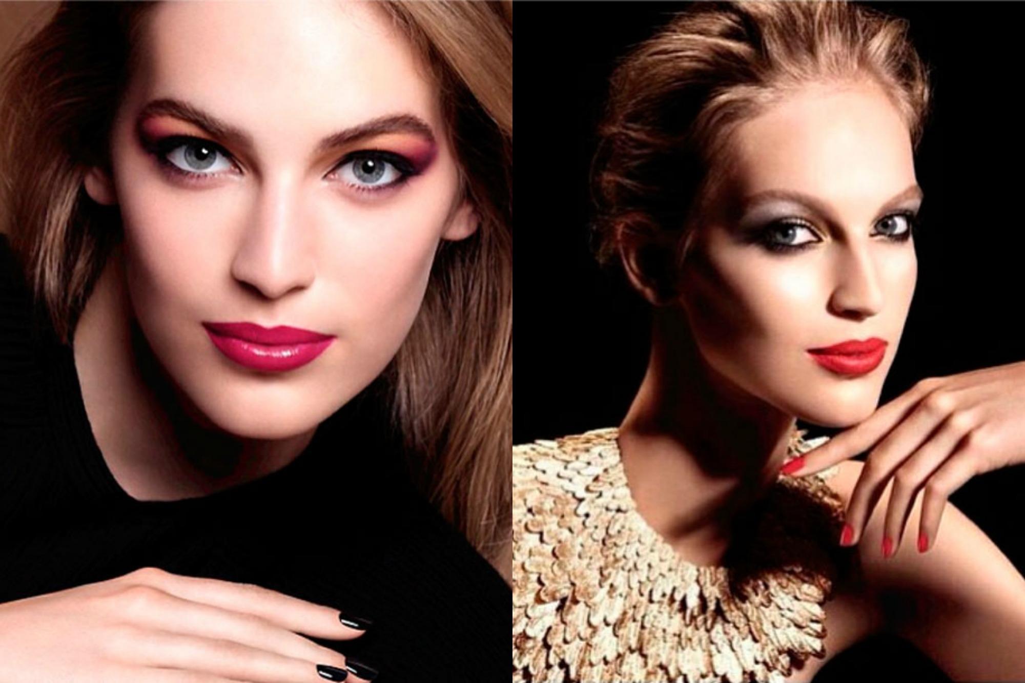 Campanhas de Inverno 2015 e de fim de ano de beleza da Chanel assinadas por Lucia Pica ©Reprodução/Instagram