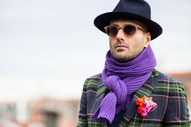 Italianos apostam em chapéus e alfaiataria xadrez para encarar o inverno ©Marcelo Soubhia/Agência Fotosite