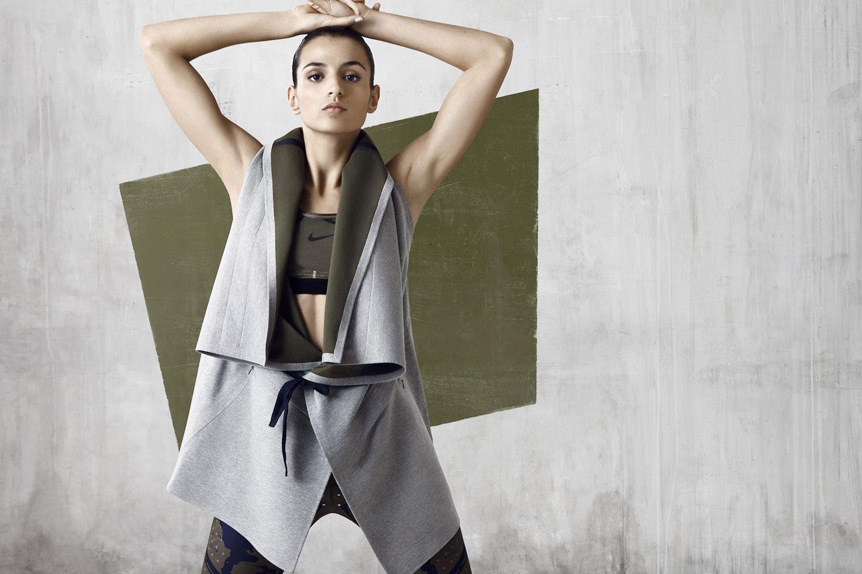 Look da nova coleção da Nike em parceria com a estilista Johanna Schneider  ©Reprodução 131e0f5c22e45