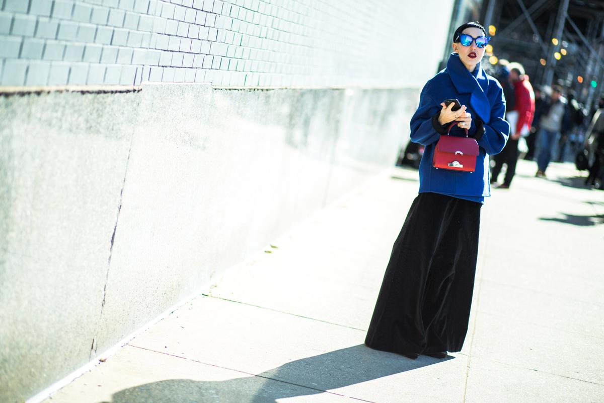 Uma seleção com o melhor do street style de Nova York em 100 fotos ©Agência Fotosite
