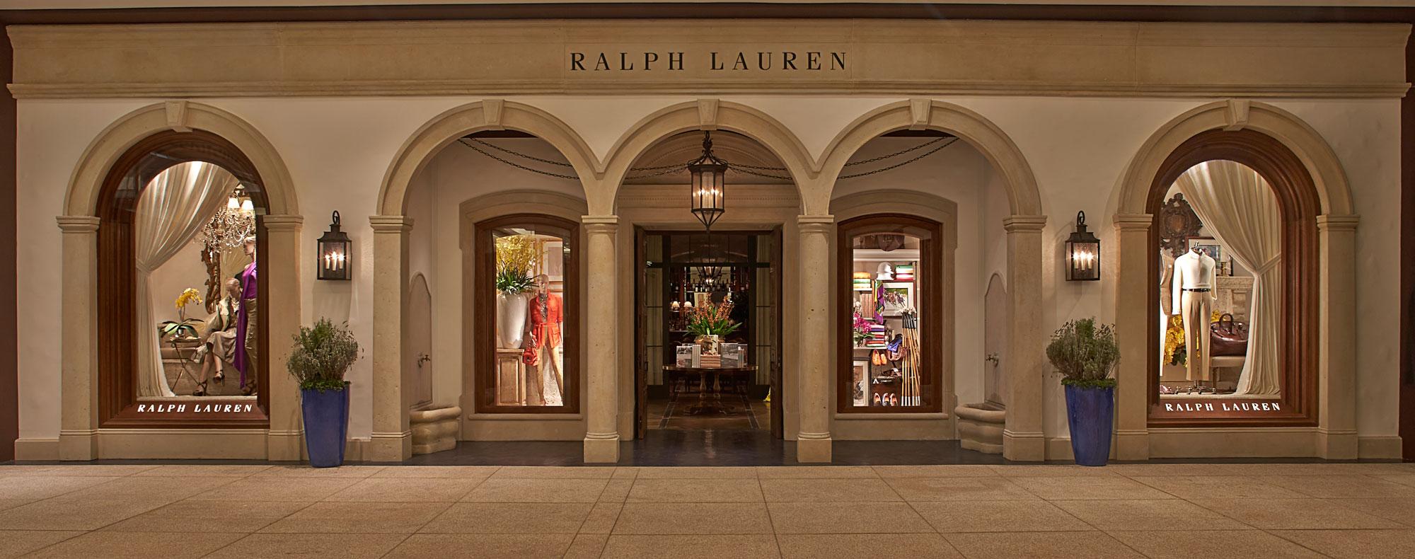 ce0e1e0c22709 Fachada da loja da Ralph Lauren no shopping Cidade Jardim ©Divulgação