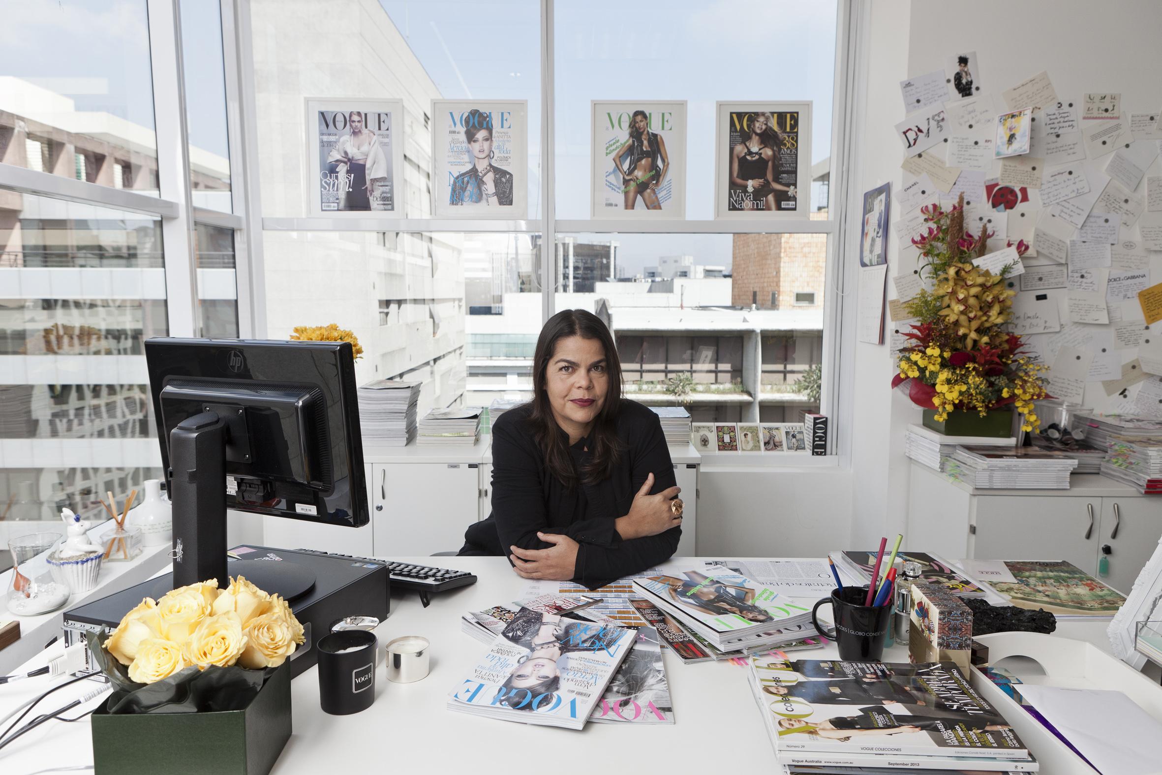 Vogue 40 anos Daniela Falcão