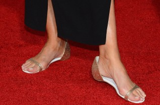 Detalhe do look de Emma Thompson no SAG Awards 2014 ©Getty Images