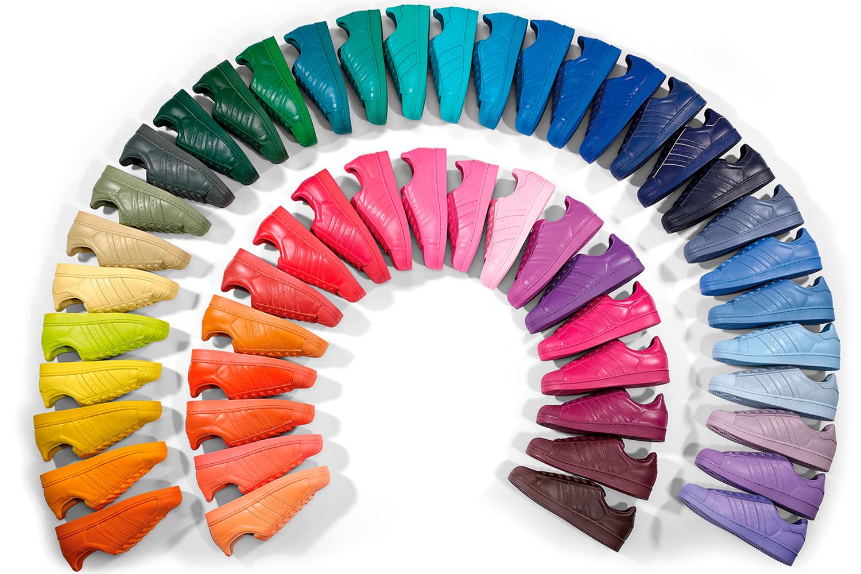 ba2441e76fd Pharrell Williams e adidas Originals lançam versões Supercolor de ...