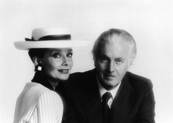 Portrait of Belgian-born actress Audrey Hepburn (1929 - 1993) and French fashion designer Hubert De Givenchy, mid 1980s. (Photo by Hulton Archive/Getty Images)