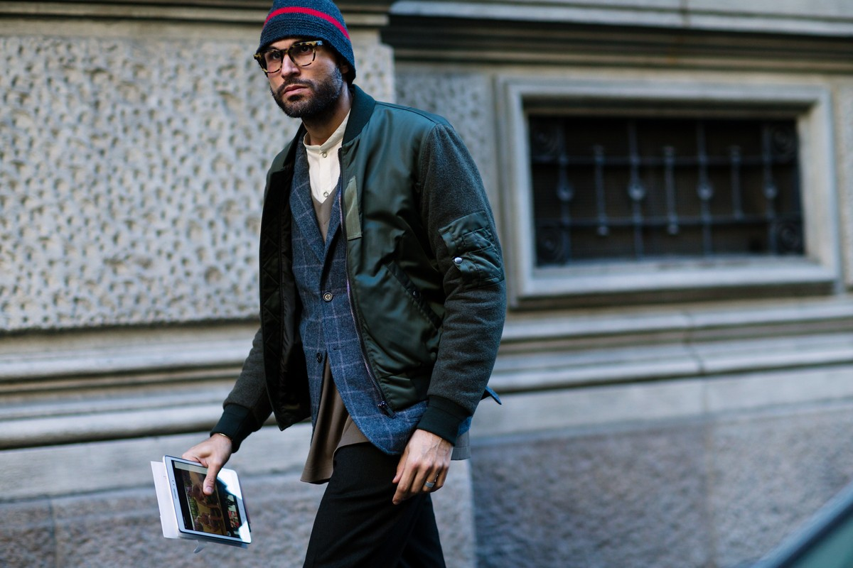 Galeria De Fotos Milano Moda Uomo O Street Style No Inverno Italiano Foto 56 Not Cias Ffw
