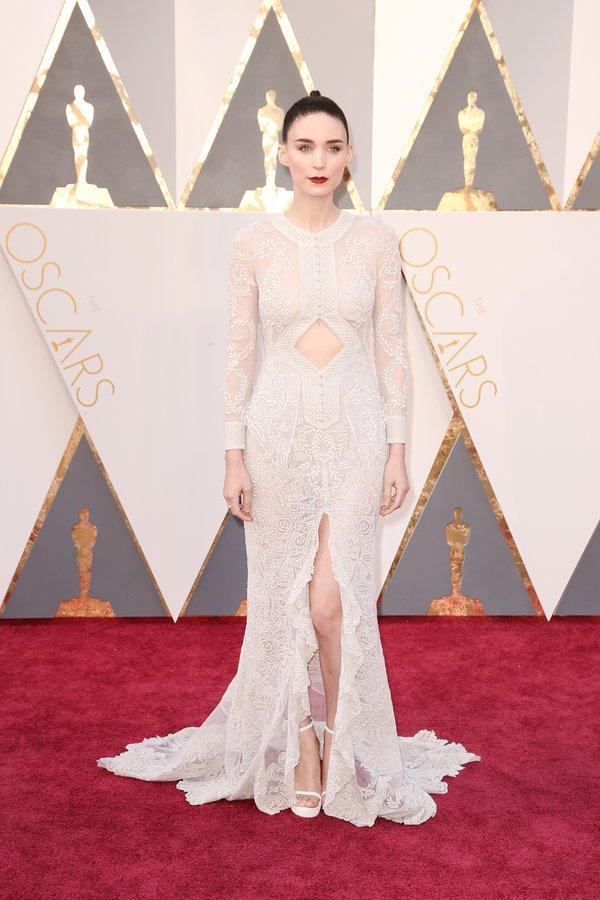 Rooney Mara, de Givenchy Haute Couture
