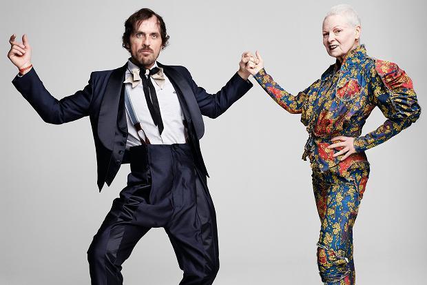 Vivienne Westwood e Andreas Kronthaler ©Reprodução
