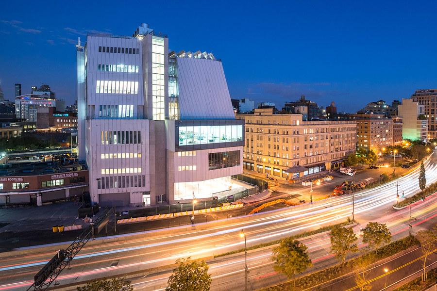O novo Whitney Museum, inaugurado em maio do ano passado