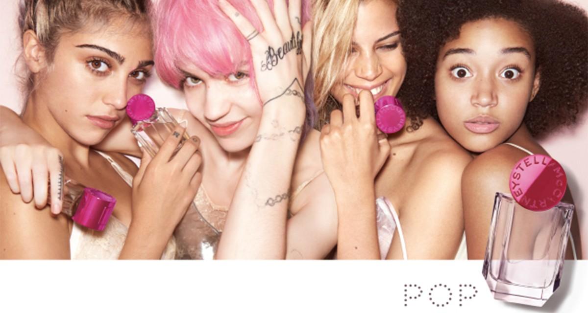 """Uma das imagens da nova campanha do perfume """"Pop"""", da Stella McCartney ©Reprodução"""