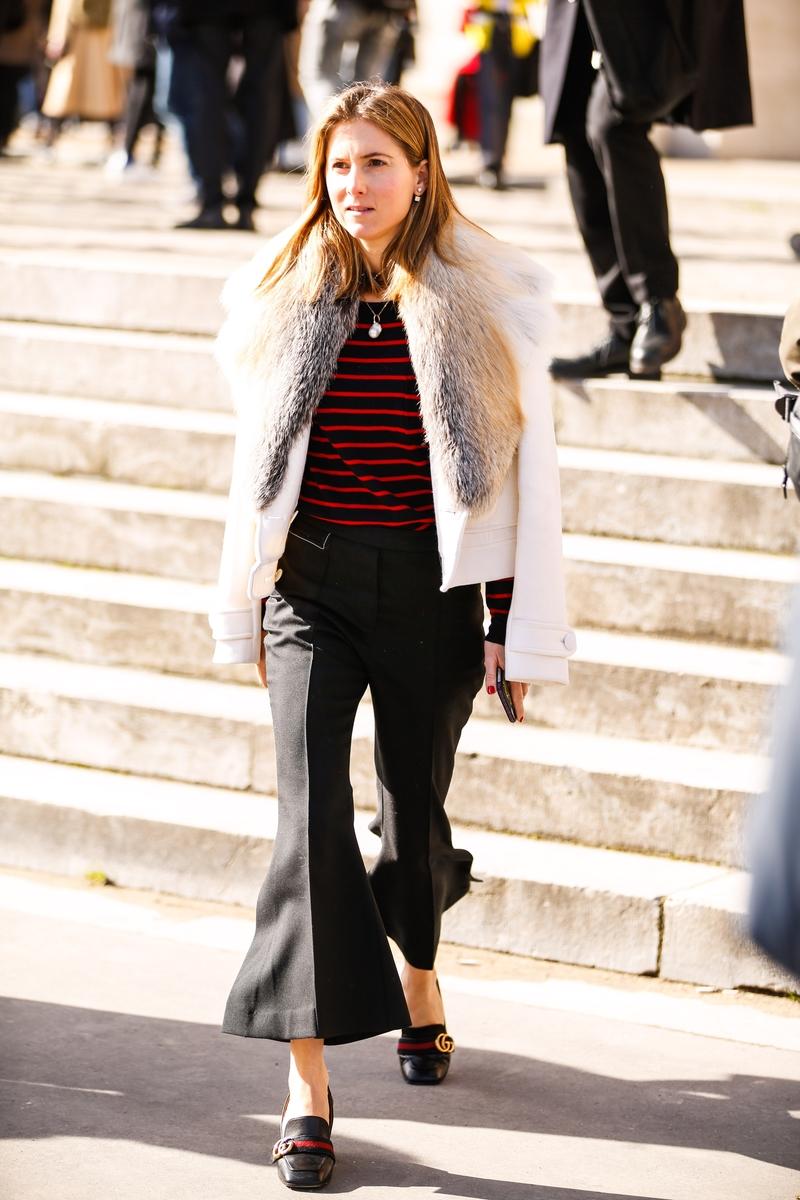 Galeria De Fotos Street Style Os Melhores Looks Da Fashion Week De Paris Foto 63 Not Cias