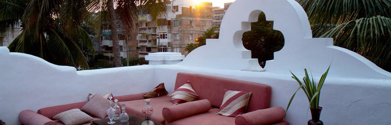 Detalhe do terraço d restaurante El Atelier ©Reprodução