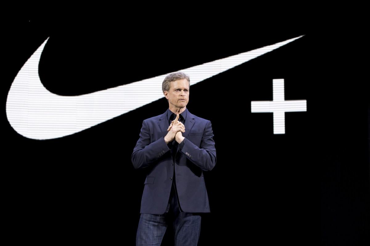 Mark Parker, CEO da Nike, durante conferência em março ©Reprodução