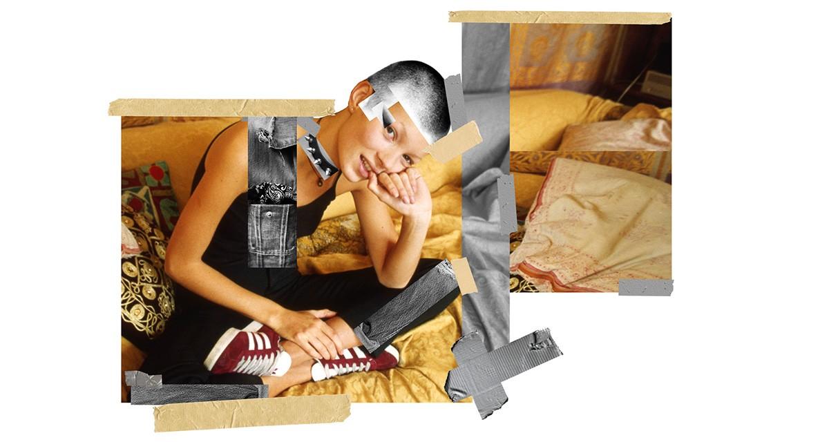 Uma das colagens feitas por Doug Abraham para a nova campanha da marca ©Reprodução
