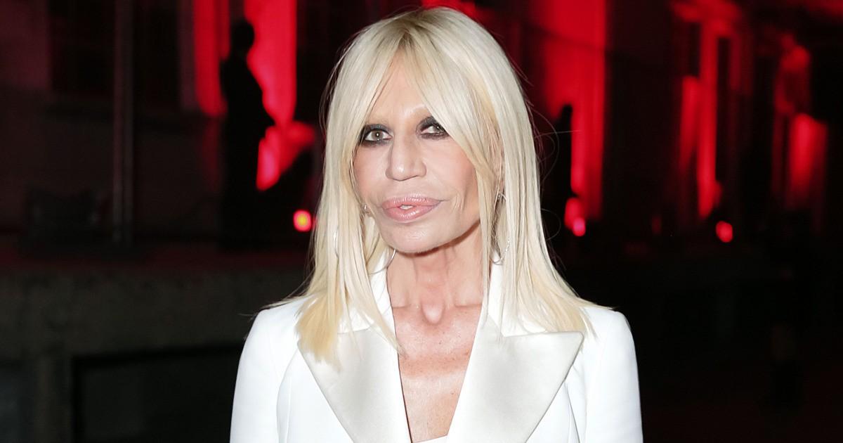 Donatella Versace ©Reprodução