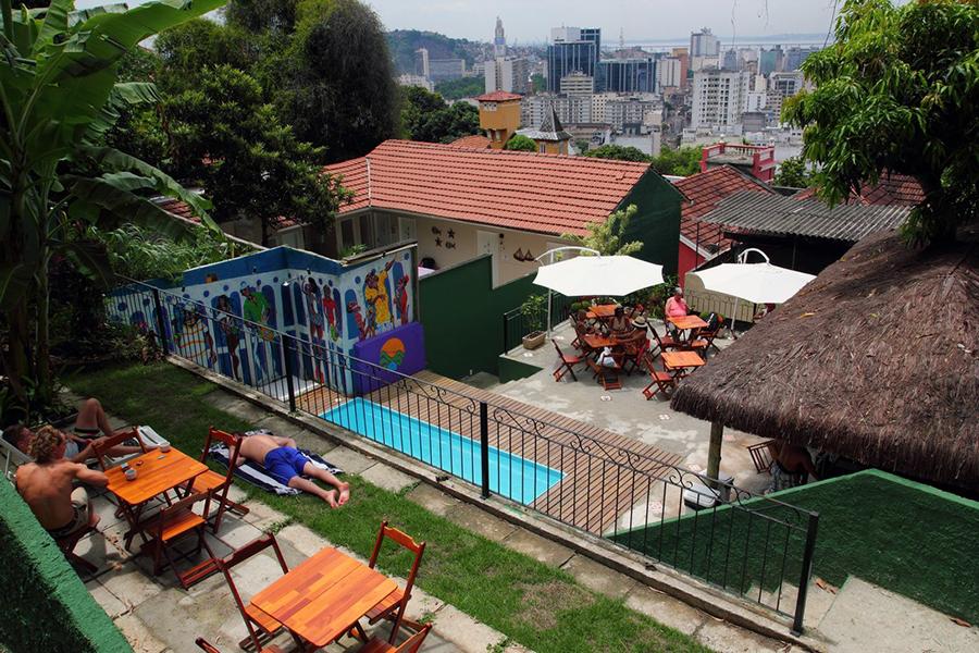 A piscina do Rio Forest Hostel ©Reprodução