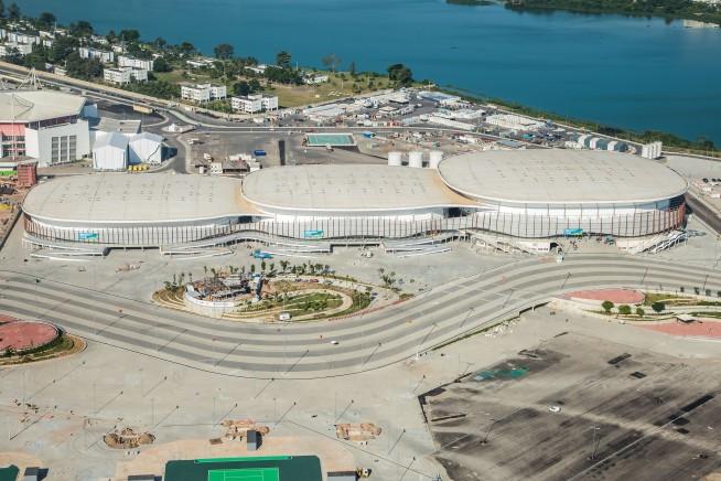 arquitetura rio 2016 arena carioca