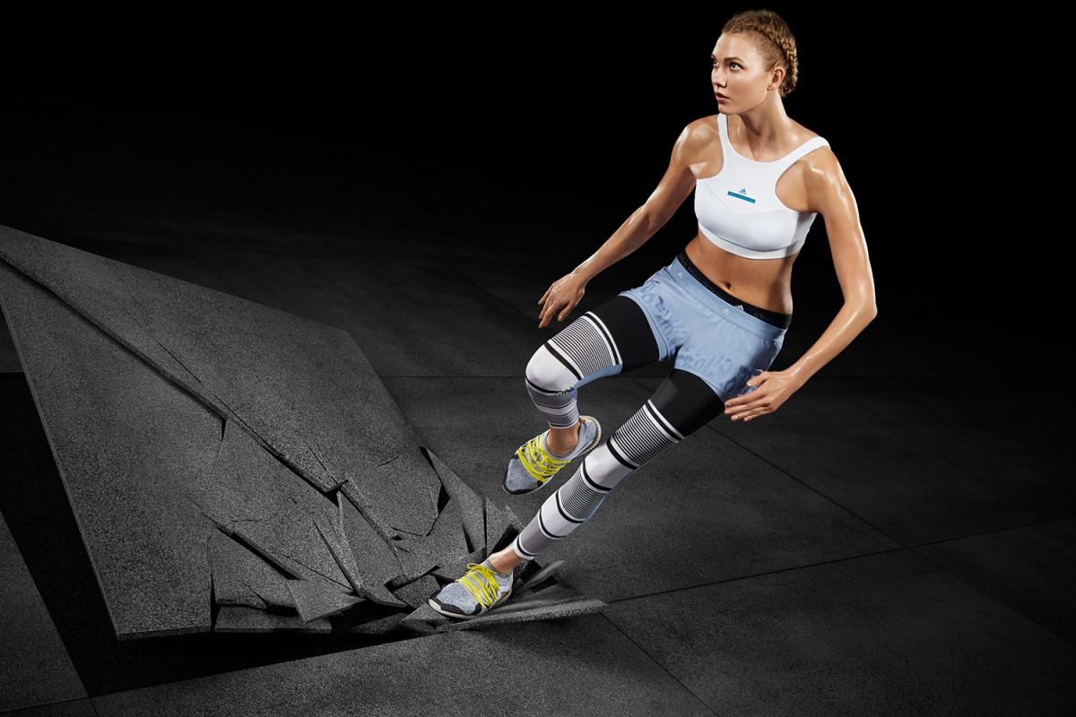 Karlie Kloss na nova campanha da Adidas by Stella McCartney. A colaboração afd55564fc646