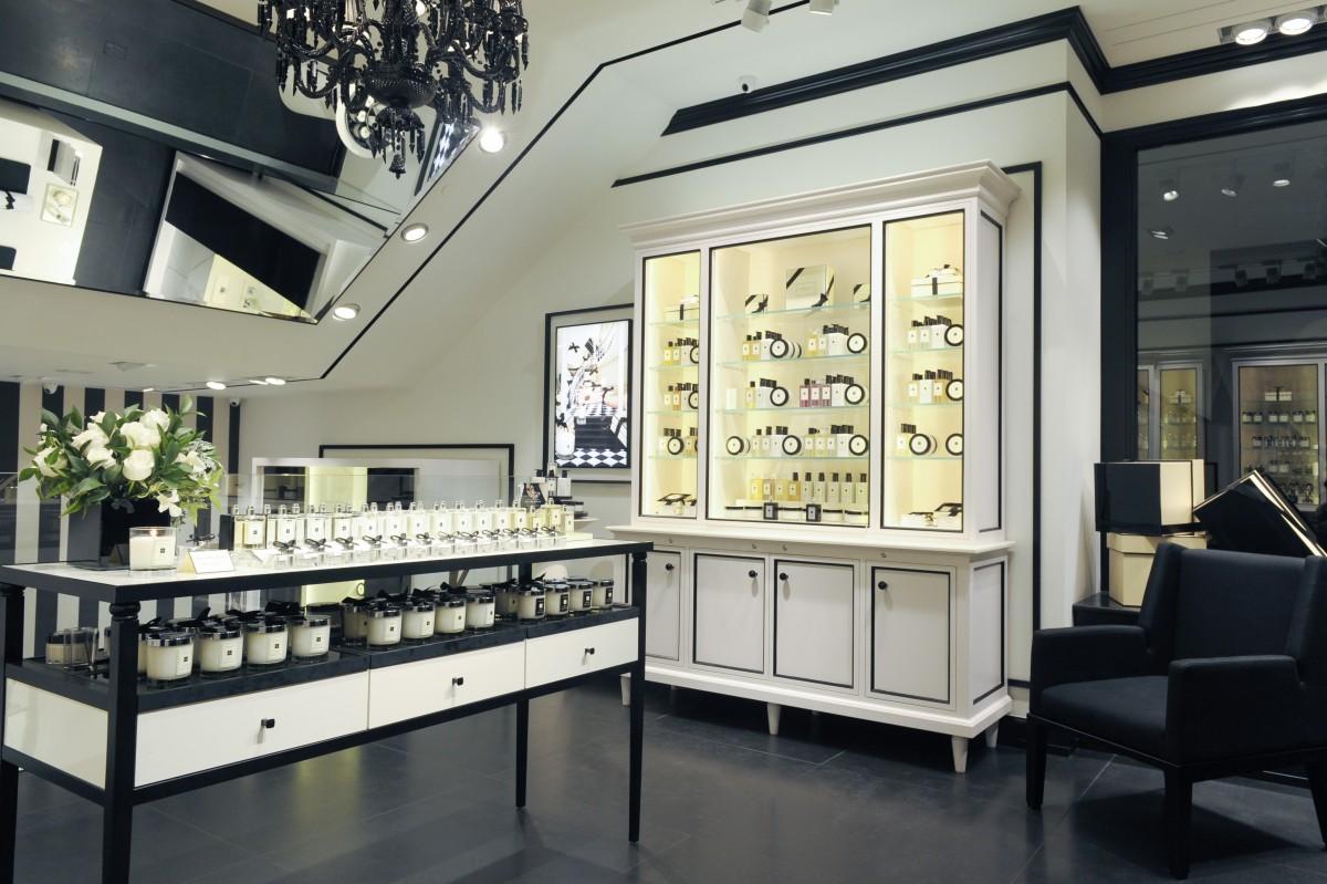 O interior da primeira loja da Jo Malone no Brasil, inaugurada em março, no 756dfa67c6