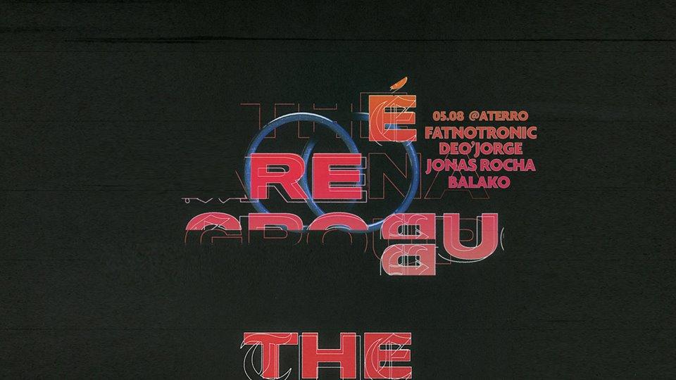 Flyer da festa Rebu, que acontece nesta sexta (05.08) ©Reprodução