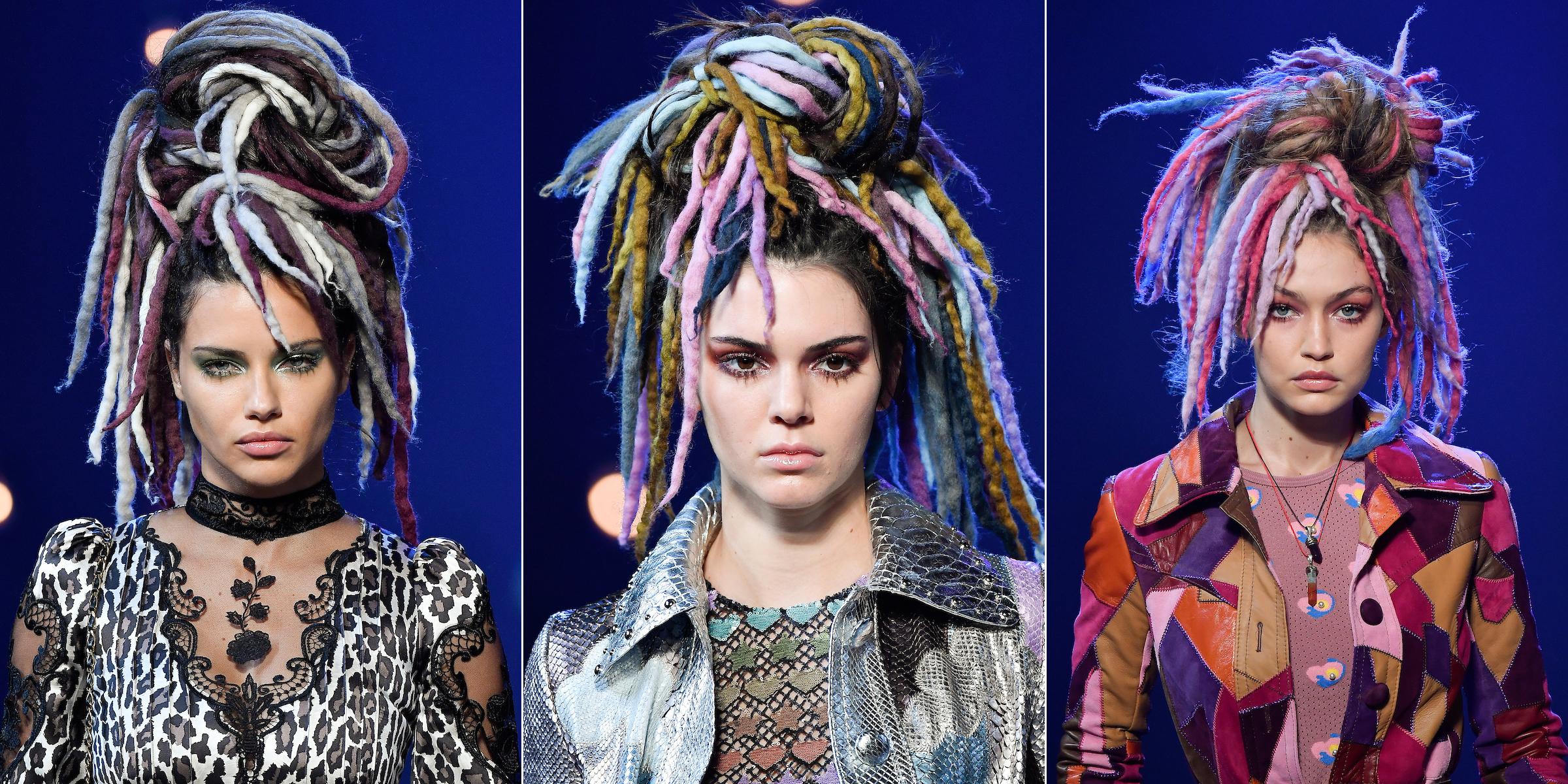 Adriana Lima, Kendall Jenner e Gigi Haddid no casting de Marc Jacobs ©Reprodução