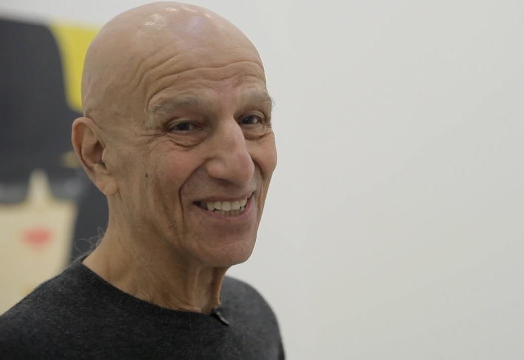 Alex Katz, hoje aos 89 anos, assina coleção completa para a H&M ©Reprodução