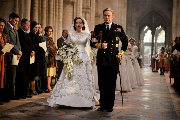 Réplica do vestido de noiva da rainha Elizabeth ©Reprodução