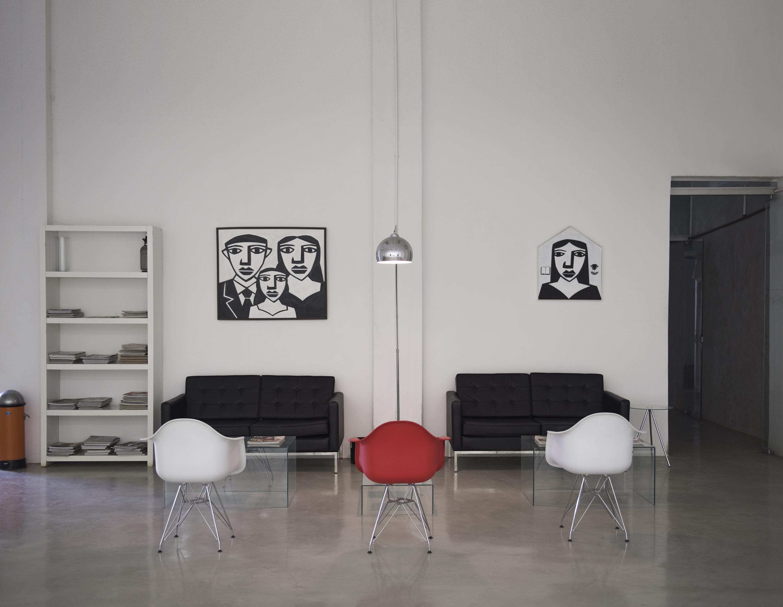 Lounge do Galpão 833, que também pode ser alugado para eventos ©Divulgação