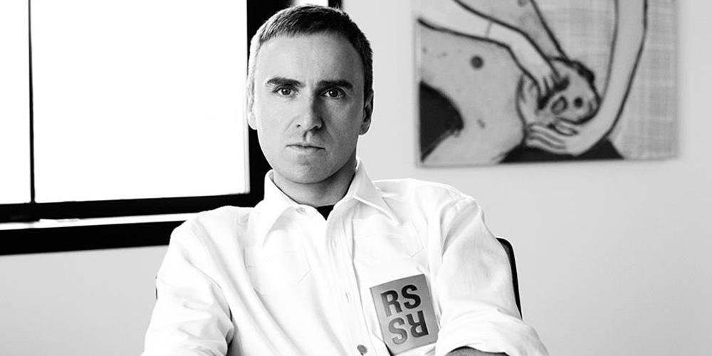 Raf Simons, novo diretor criativo da Calvin Klein ©Reprodução