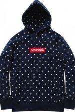 hoodie da parceria com a Comme Des Garçons
