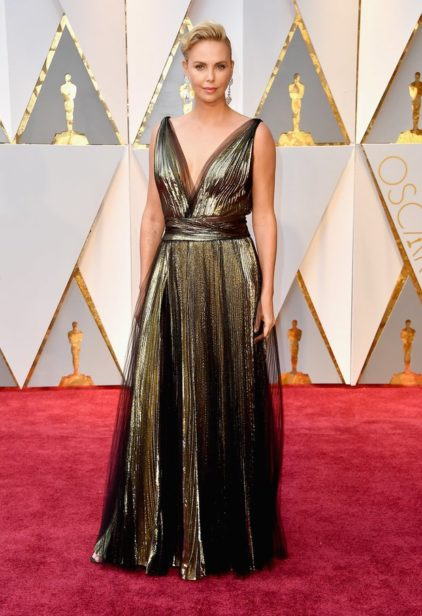 Charlize Theron de Dior Couture