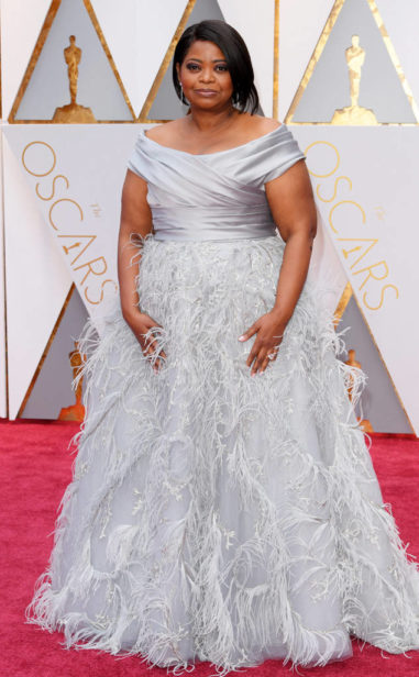 Octavia Spencer de Marchesa