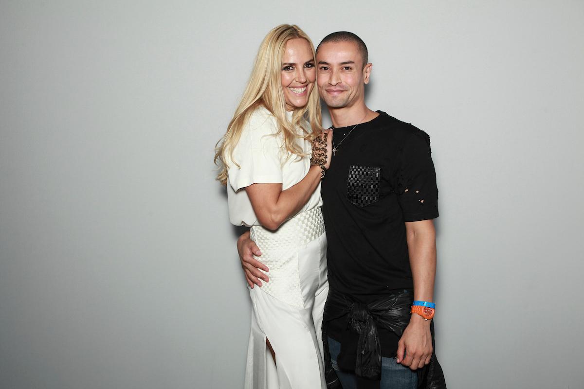 Alexandra Fructuoso e Dinho Batista ©Agência Fotosite